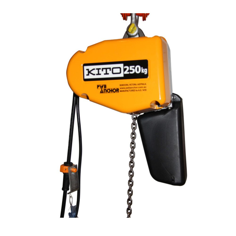 electric chain hoist kito 2 ranger. Black Bedroom Furniture Sets. Home Design Ideas
