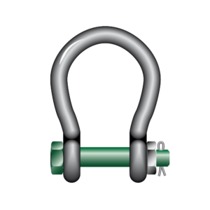 s4-green-pin-wide-mouth-shackles-bow-shackles-with-safety-bolt-photo