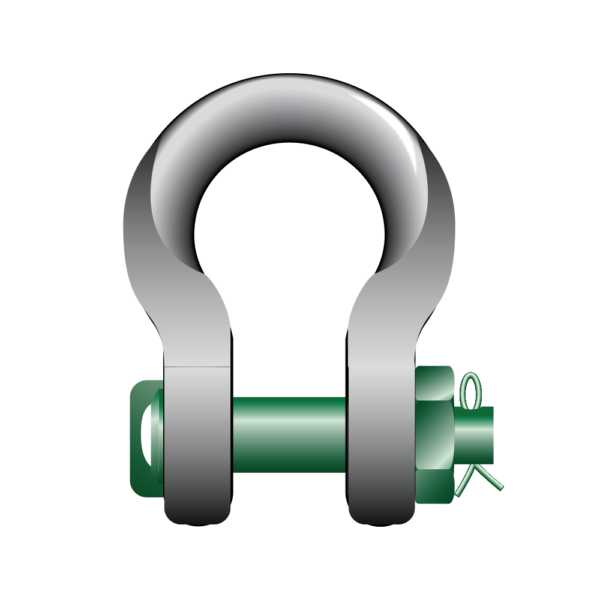 S4 Green Pin Sling Shackles
