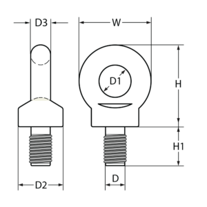 s6-eye-bolt-bs4278-with-metric-sizing-line-drawing