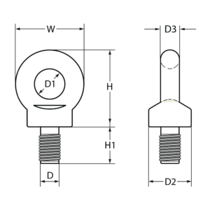 s6-eye-bolt-bs529-with-whitworth-sizing-line-drawing