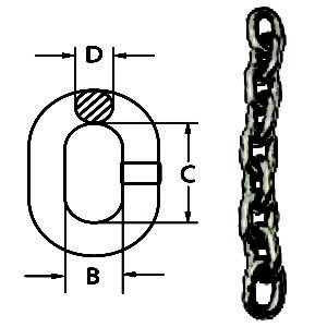 Regular Link Stainless Steel Chain