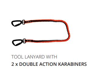 TOOL LANYARDS with Karabiners