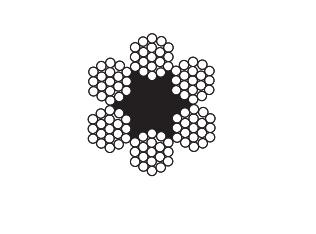 6 X 19 Fibre Core Construction – General, Winch + Marine use