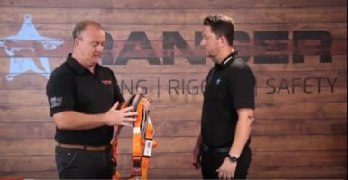 How To Fit a Safety Harness Correctly   Ranger Lifting