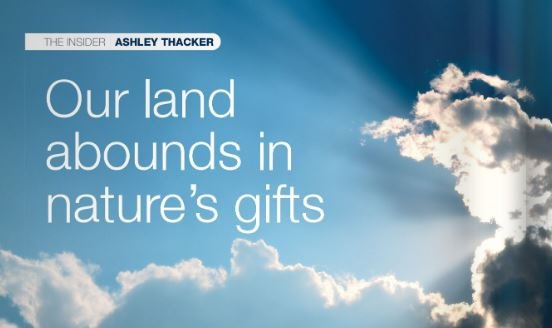 Insider Article: Land's Nature Gifts