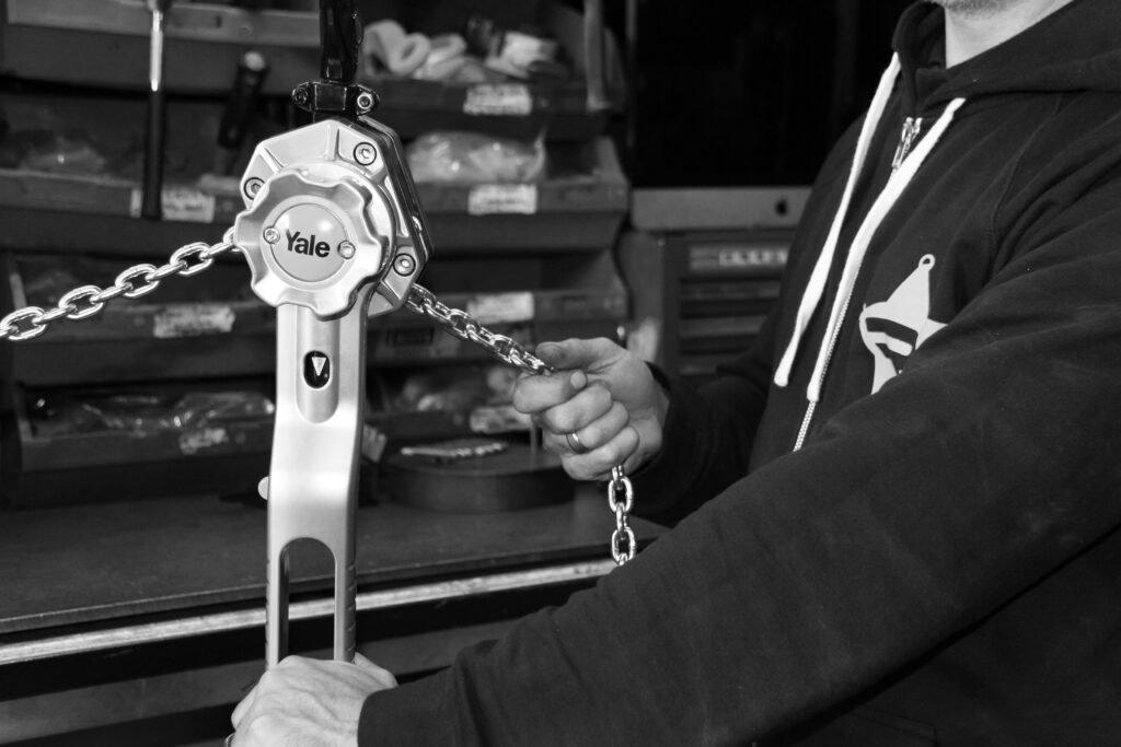 Right Chain Hoist | Ranger Lifting